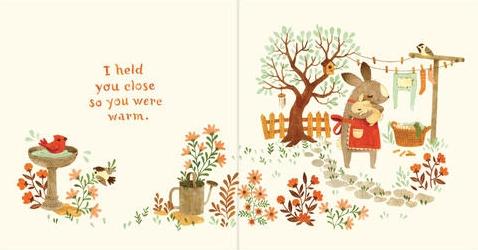 bunny roo i love you spread a book long enough