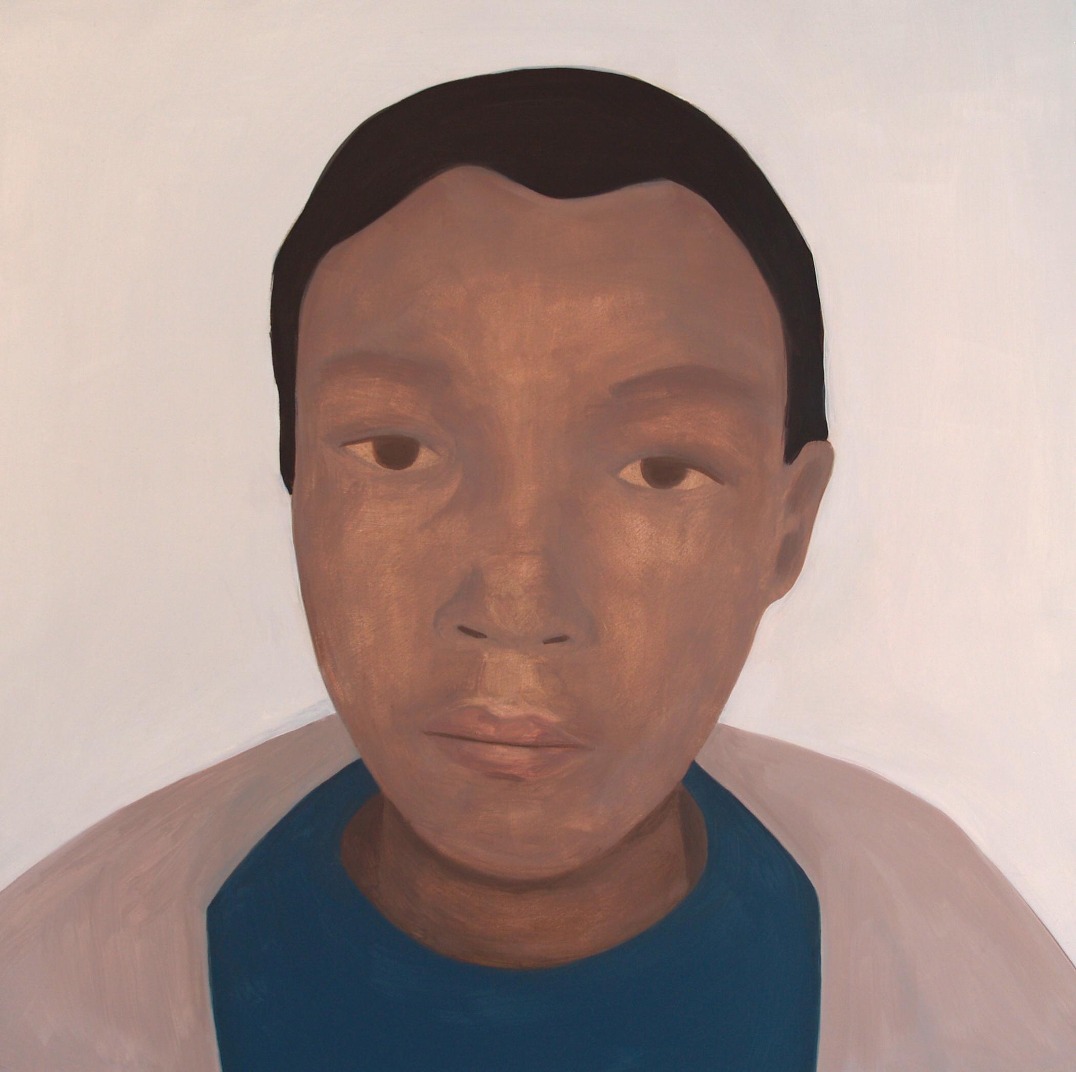 Anene , Oil on canvas, 50 x 50 cm, 2013
