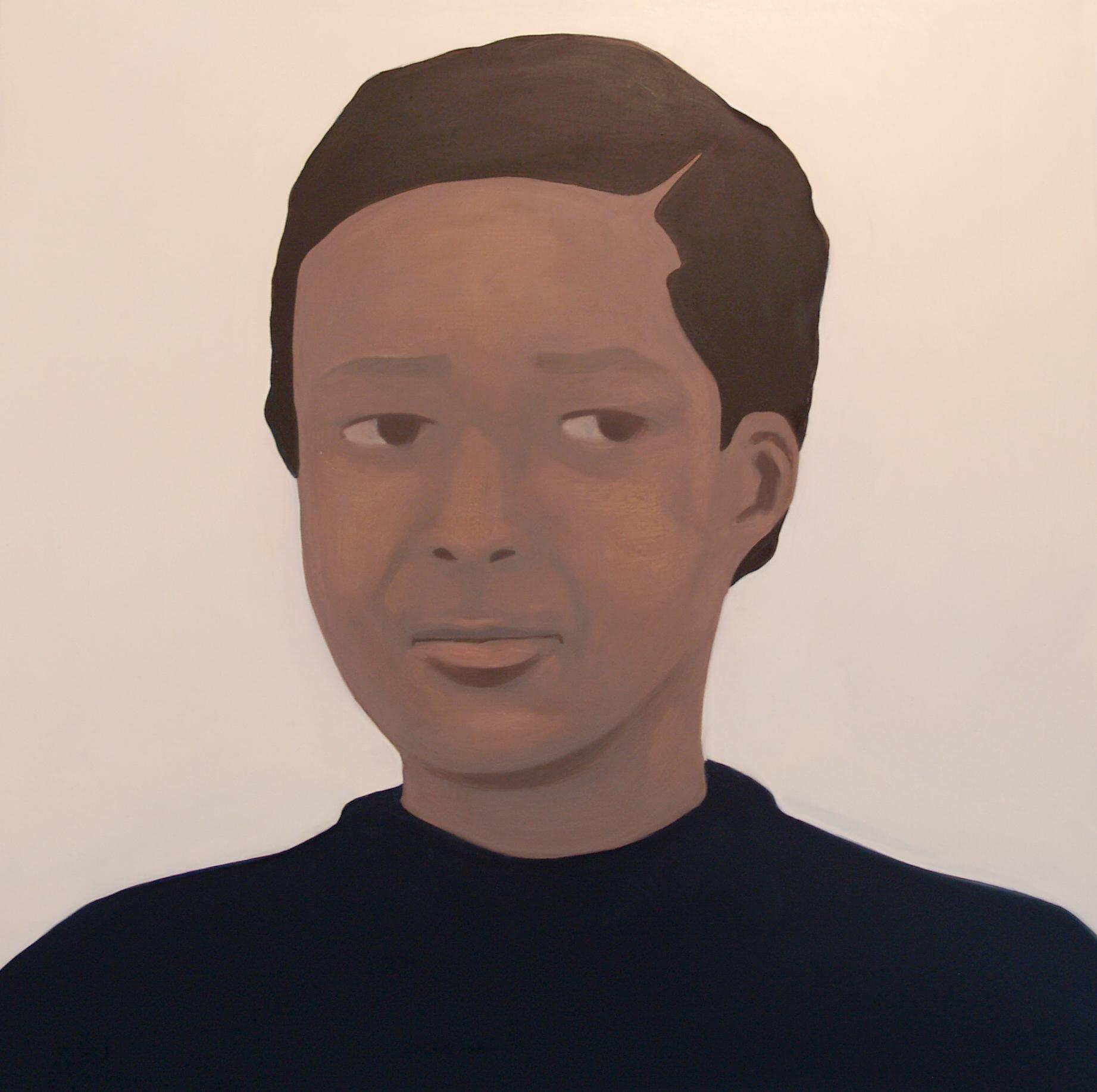 Head,  Oil on canvas, 50 x 50 cm, 2013