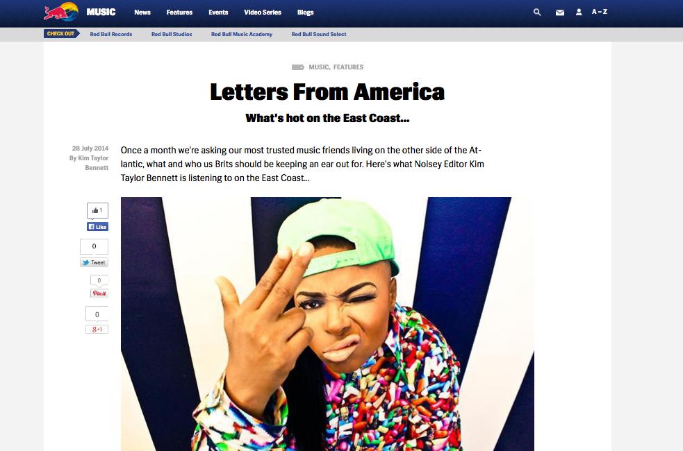 READ FULL ARTICLE  http://www.redbull.com/uk/en/music/stories/1331666913264/letters-from-america-east-coast