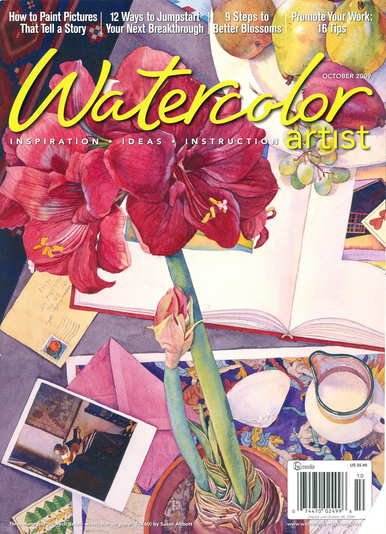 Watercolor Artist  2009