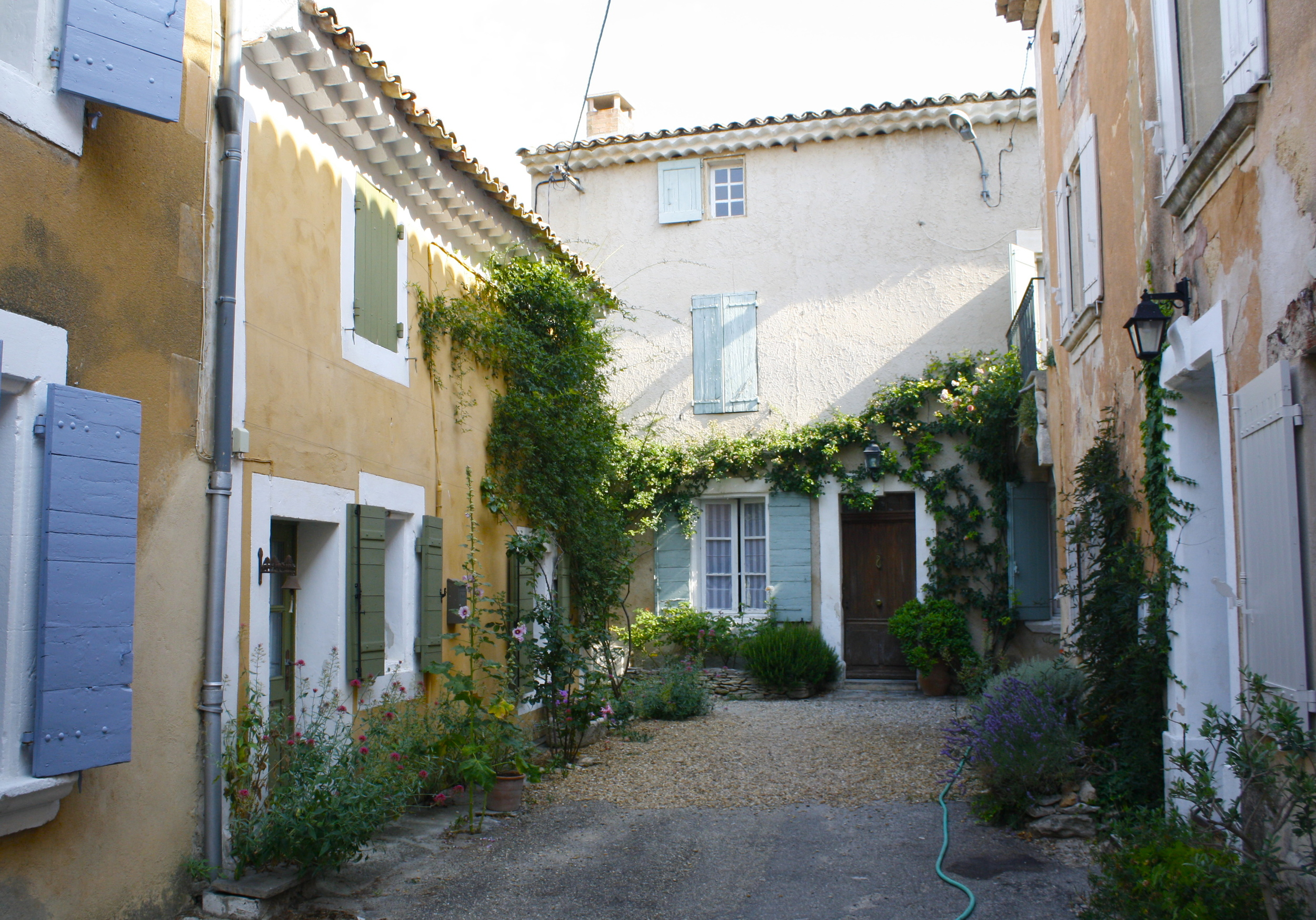 Home base of Les Bassacs, Provence landscape workshop