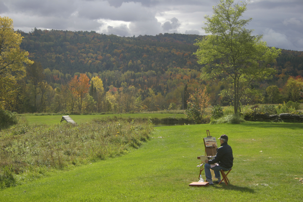 Autumn Vermont Painting Retreat