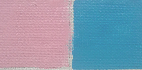 Not that I don't now and then dip into Dianthus Pink or Sevres Blue--but both of these oil pigments were added to my palette because they contribute distinctive color that is difficult to mix, not because of their sexy names.