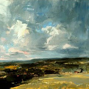 """Eric Aho, """"Constable Squall"""" (detail)"""