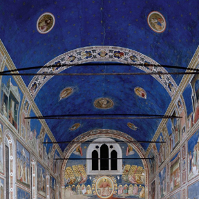 Giotto, ceiling of the Arena chapel, 1300