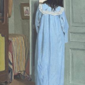 "Felix Vallotton, ""Interior"" (detail), 1903"