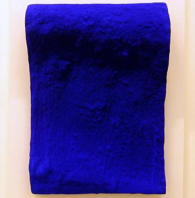 """Yves Klein, """"The Wave"""", c. 1960"""
