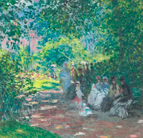 """Claude Monet, """"Park Monceau"""", 1878"""