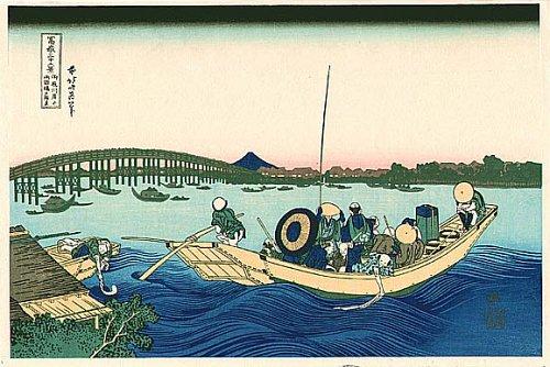 "Hokusai, ""36 Views of Mt. Fuji"", c. 1820"
