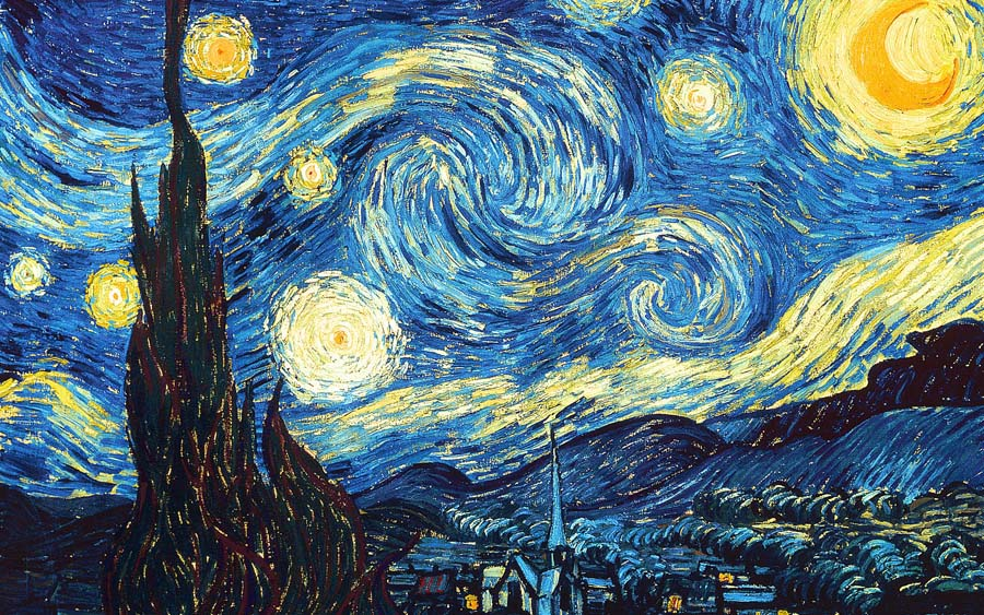"Van Gogh, ""Starry Night"