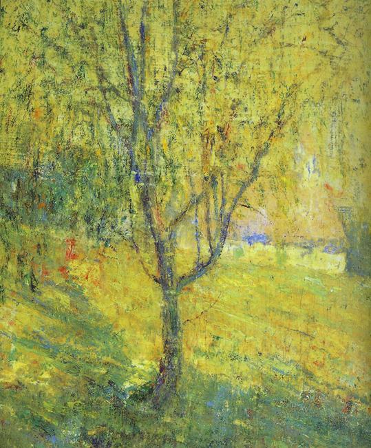 "Ernest Lawson, ""Spring"" (detail), 1900"