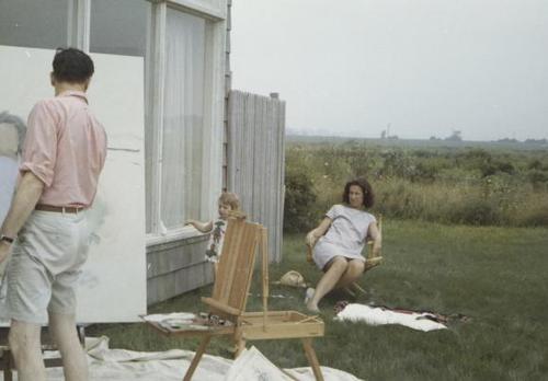 Fairfield Porter painting on Long Island