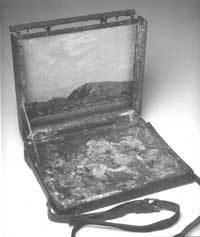 Tom Thomson's pochade box