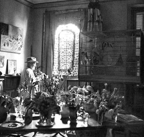 Henri Matisse's studio