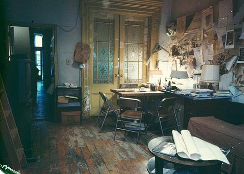 Louise Bourgeois's studio