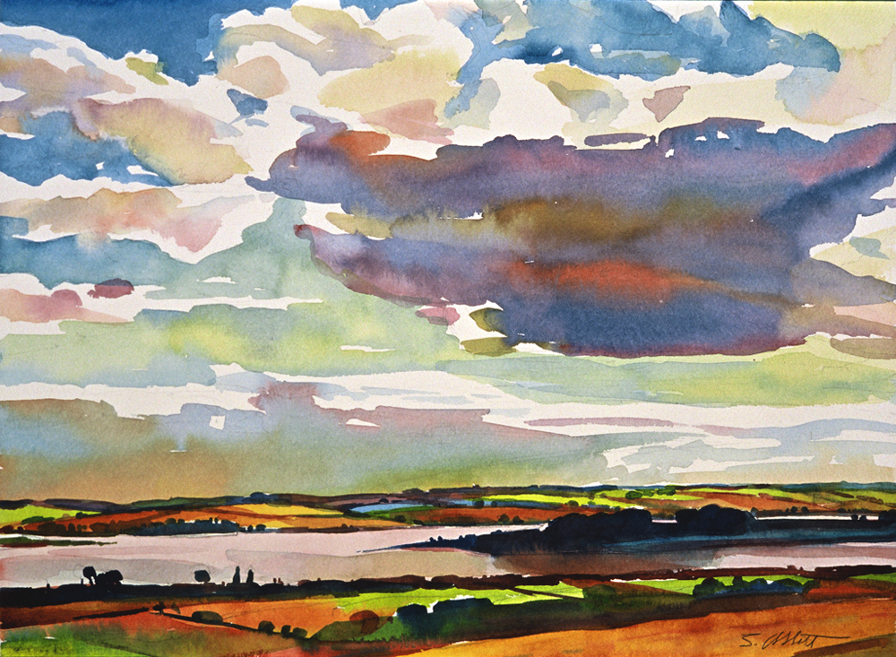 "Susan Abbott, ""Big Cloud, PEI"""