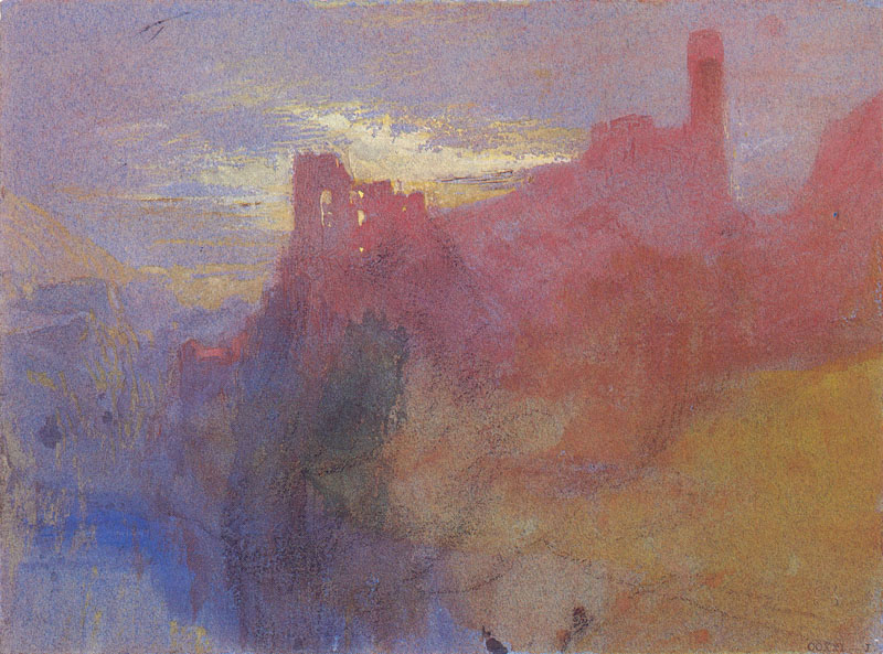 "JMW Turner, ""Castle on the Mosell"""