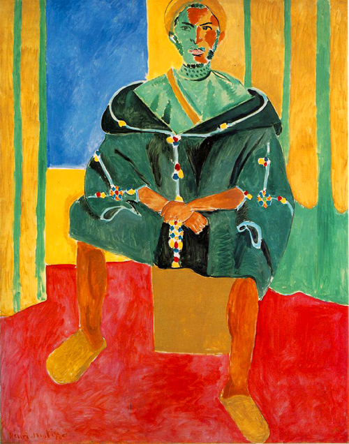 "Henri Matisse, ""Seated Riffian"""