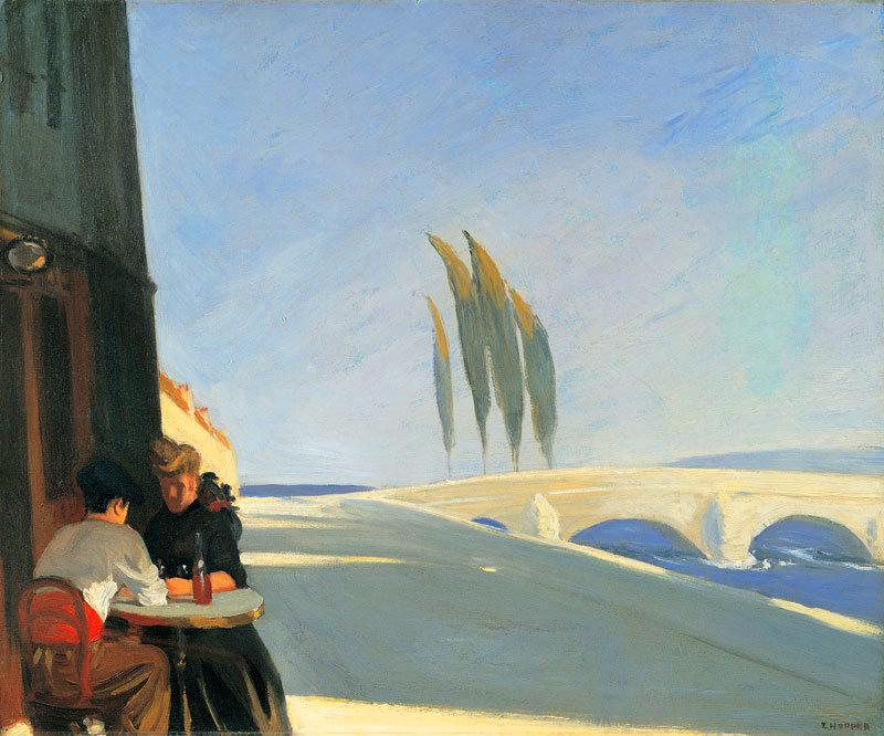 "Edward Hopper, ""Le Bistro"""