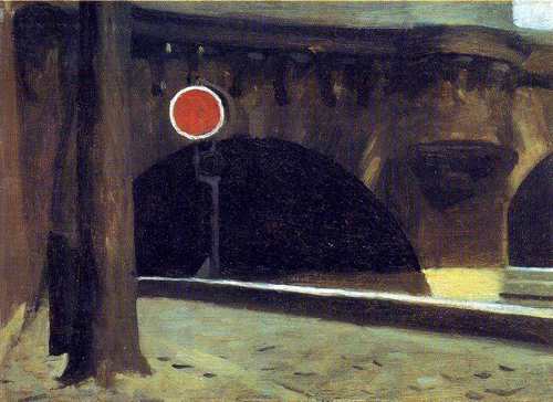 "Edward Hopper, ""Bridge in Paris"""