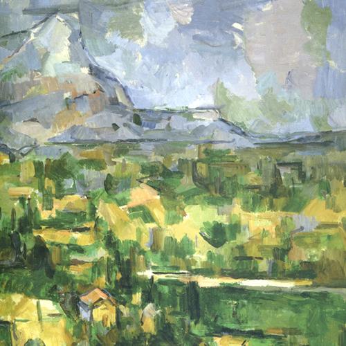 Paul Cezanne, Mont St. Victoire