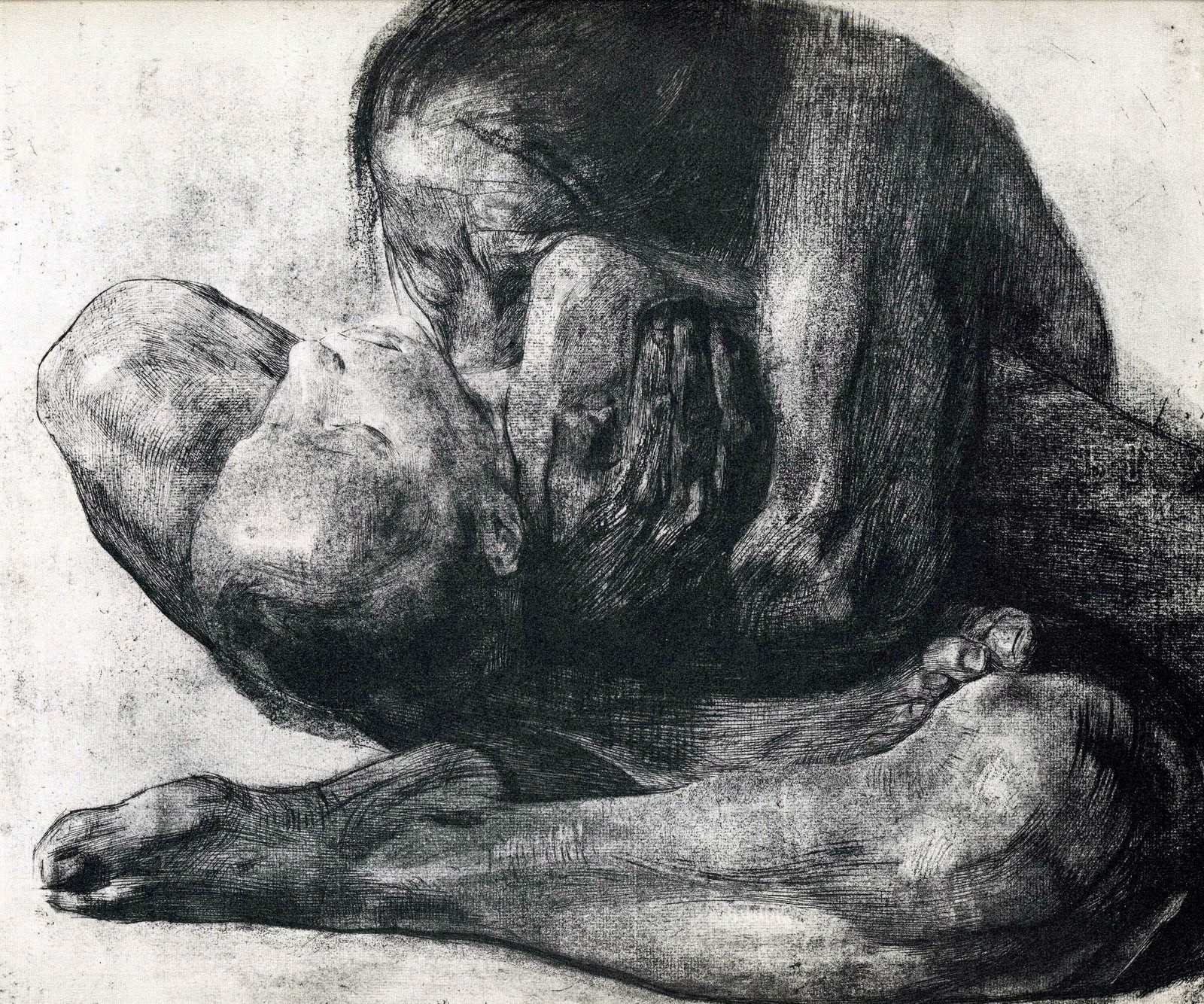 """Mother with Her Dead Child"", Kathe Kollwitz"