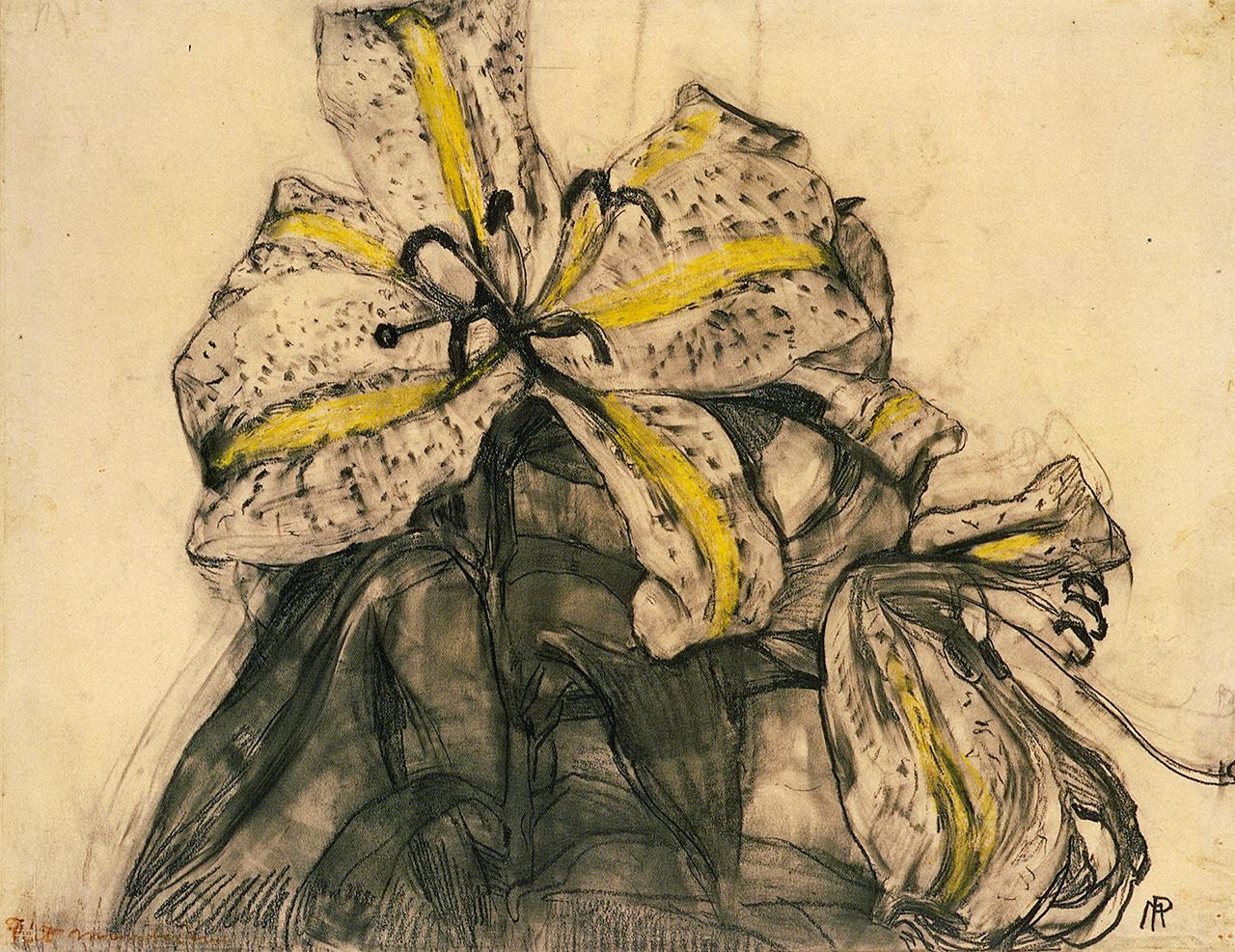 """Piet Mondrian, """"Tiger Lily"""""""