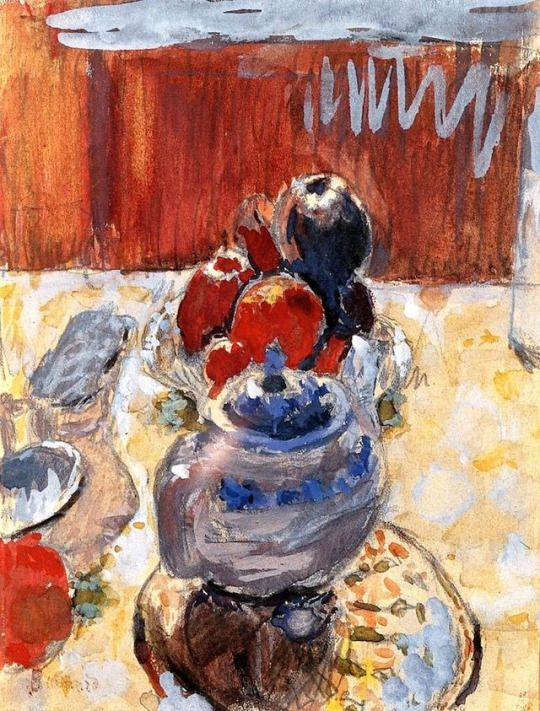 "Pierre Bonnard, ""Still Life with Fruit"""