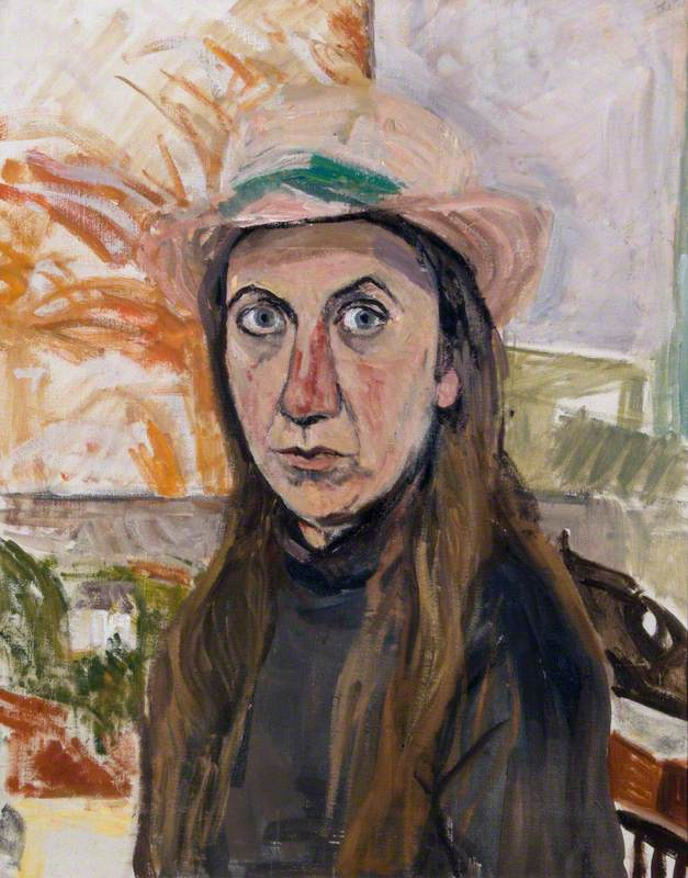 "Jess Cook, ""Italian Straw Hat"""