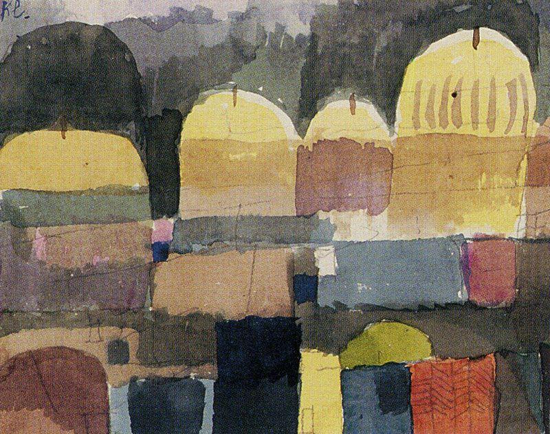 """Paul Klee, """"Oriental Watercolor"""""""
