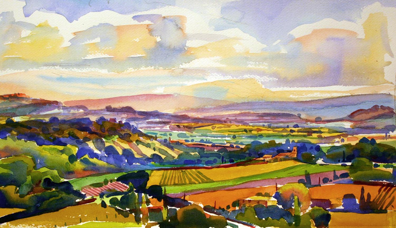 "Susan Abbott, ""Provence Morning"""