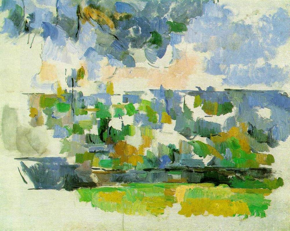 """Paul Cezanne, """"Garden at Les Lauves"""""""