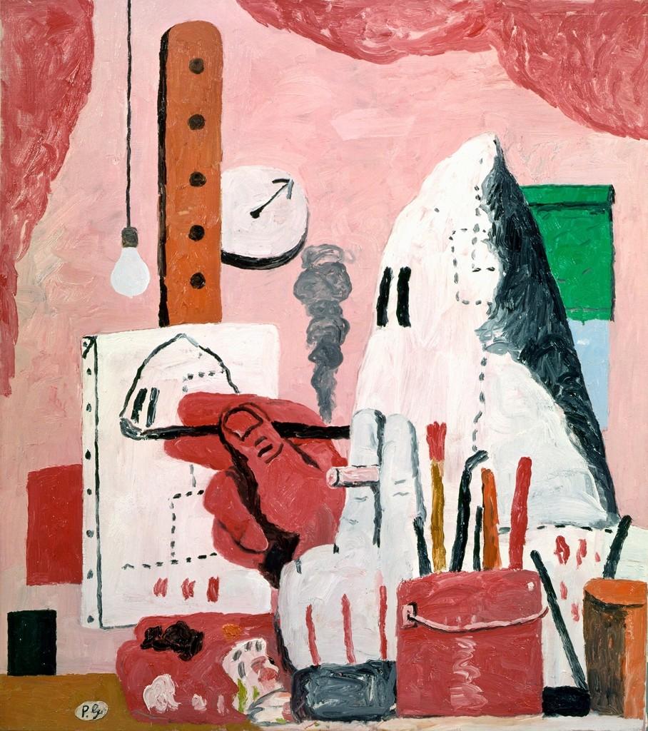 "Philip Guston, ""The Studio"", oil on canvas"