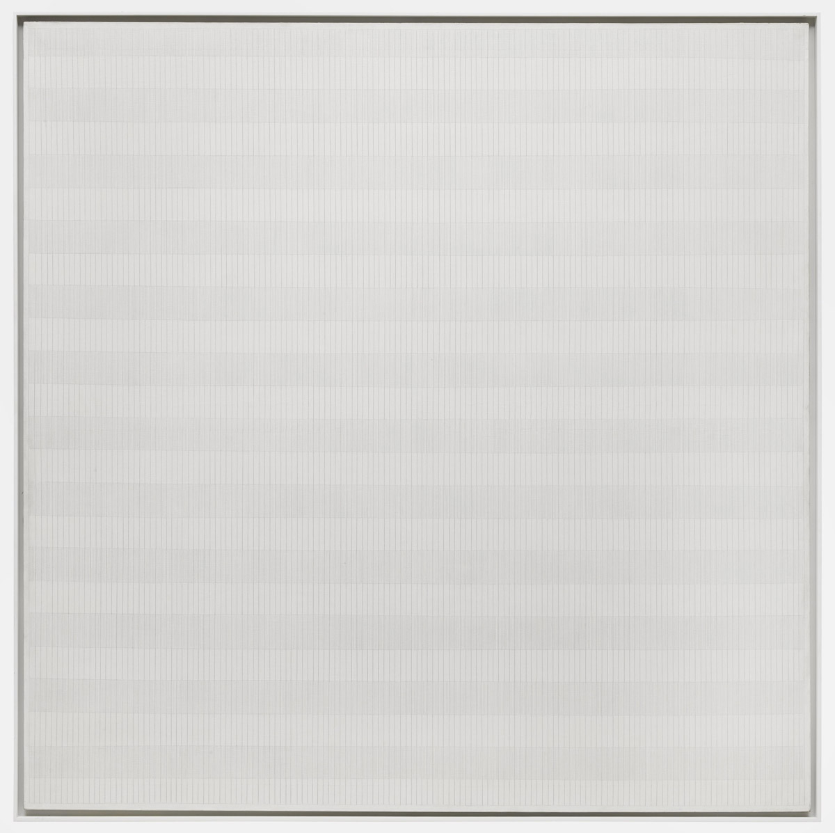 "Agnes Martin, ""The Tree"", oil on linen"