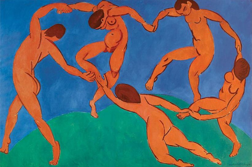 "Henri Matisse, ""Dance ii, oil on canvas"