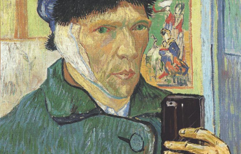 """""""Van Gogh Selfie"""", from the Museum of Selfies"""