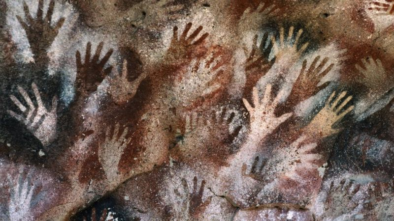 Anonymous cave art