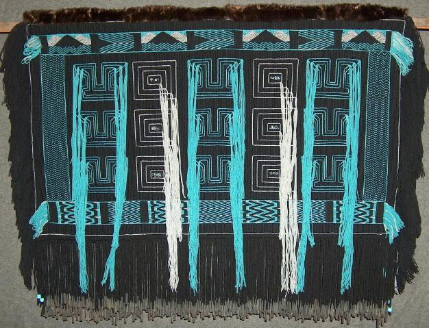 Lani Hotch, Tsirka River Robe (Tlingit peoples), textile weaving