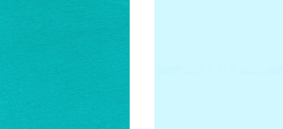Teal Blue vs. Robin's Egg Blue