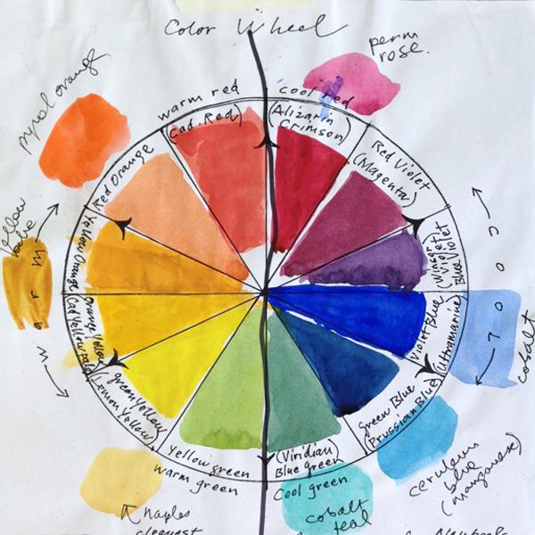 Susan Abbott, color wheel