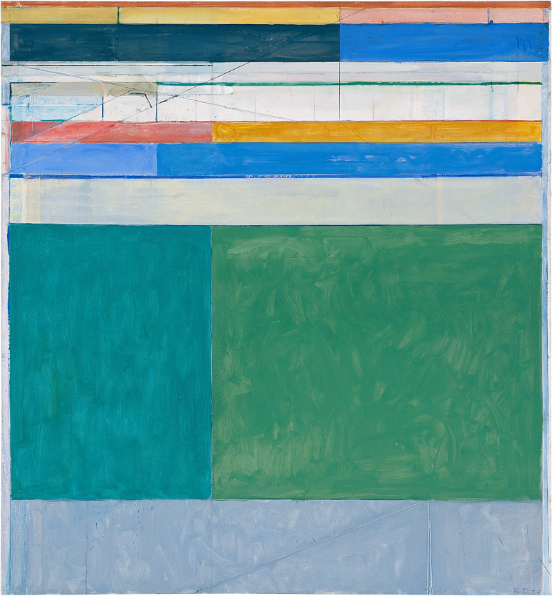 "Richard Diebenkorn, ""Ocean Park, #105"", oil"