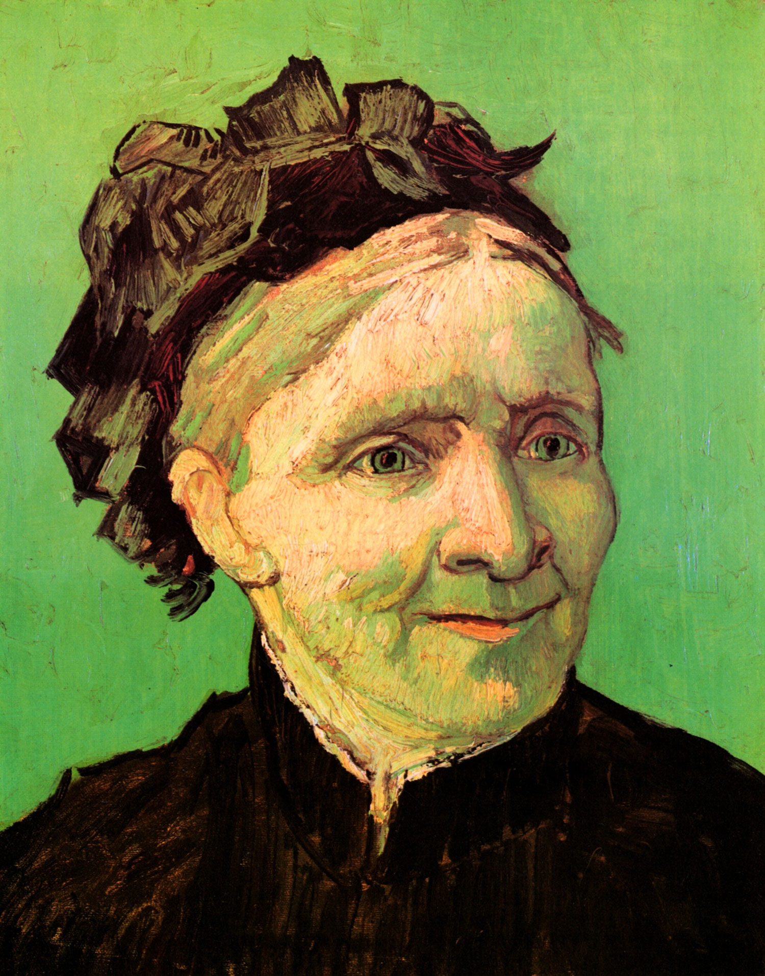 "Vincent Van Gogh, ""The Artist's Mother"", oil on canvas"