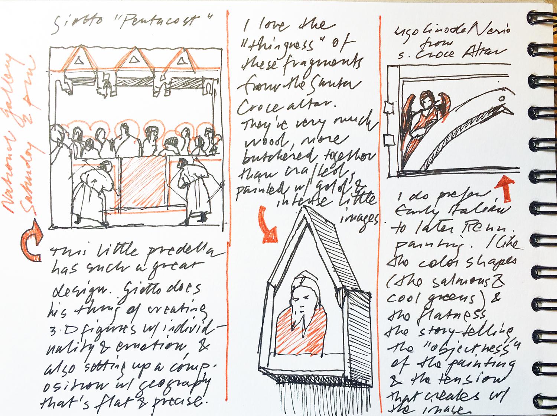 Susan Abbott, sketchbook