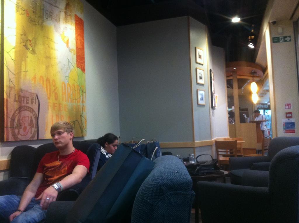Starbucks, Arndale Centre. Photo: Lynne Azpeitia