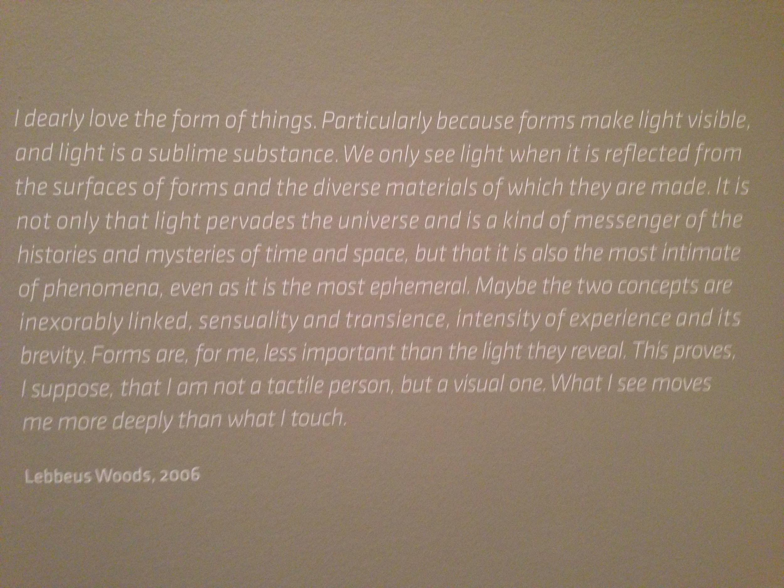 SF MOMA Exhibit  Photo: Lynne Azpeitia