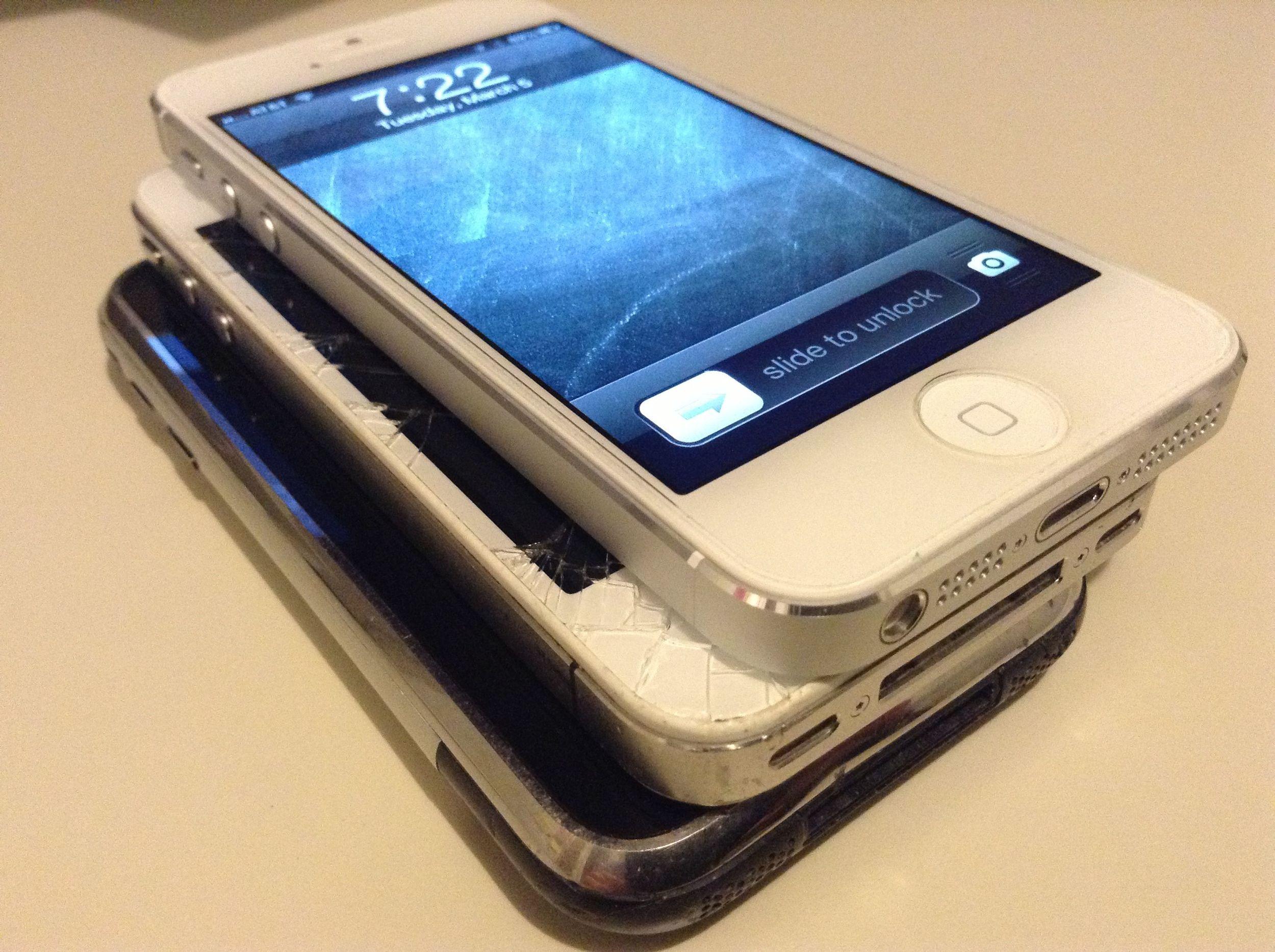 Original iPhone, 4, 5