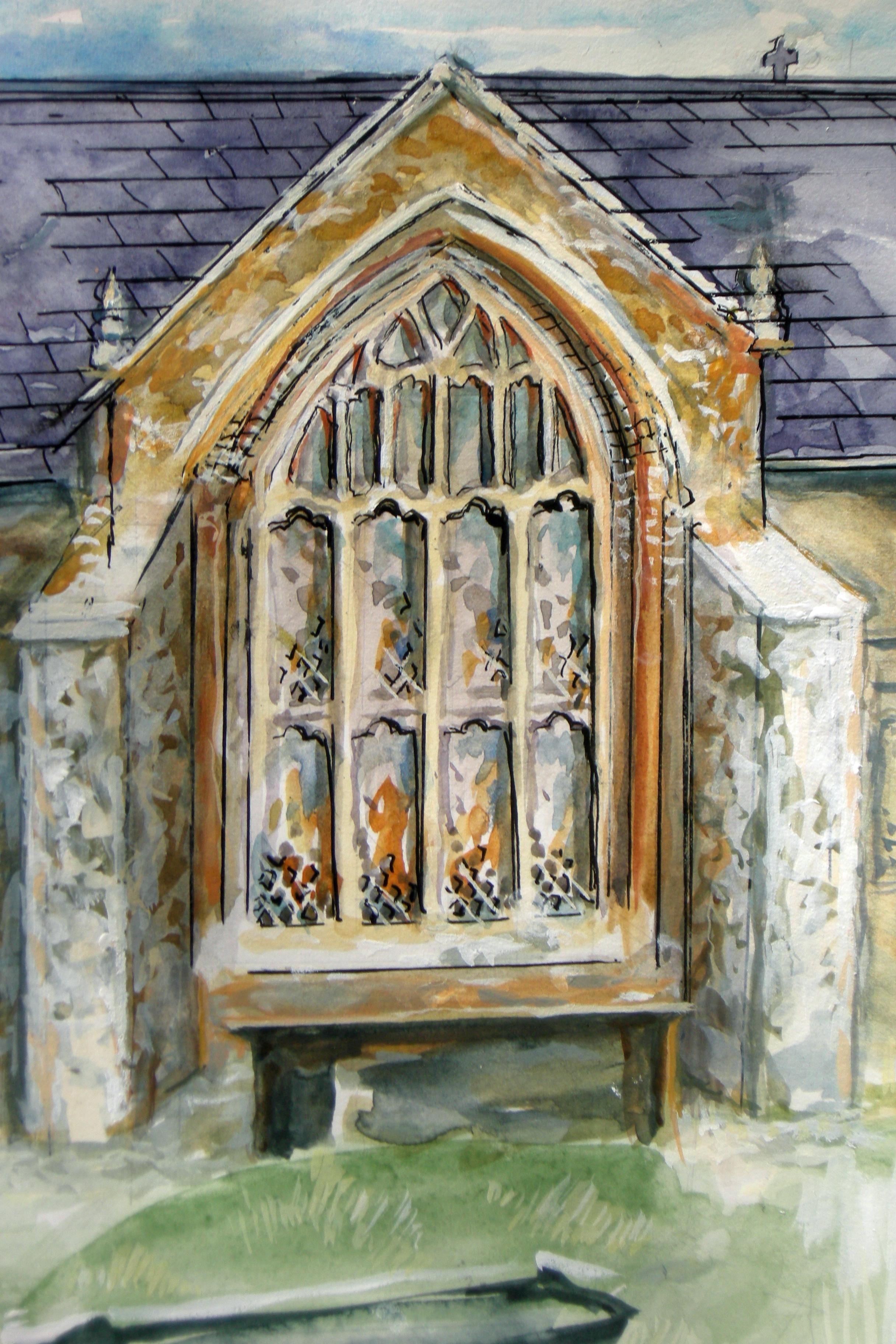 Llanbedr church