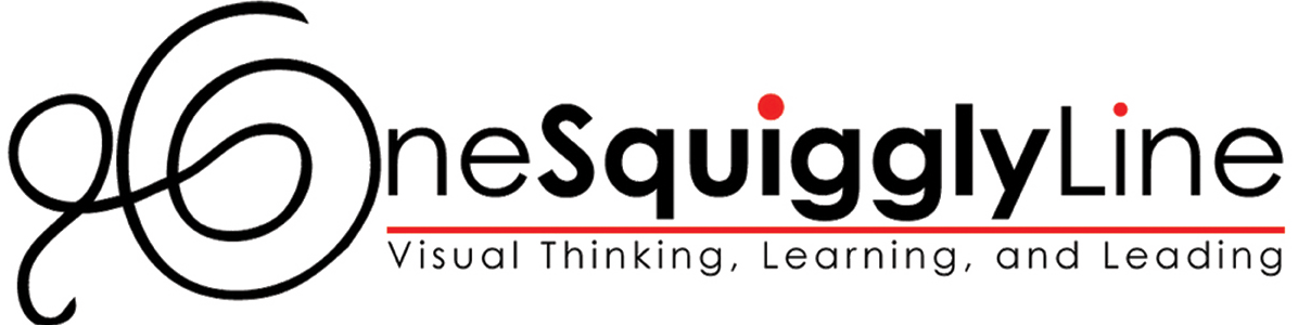 one squiggly line logo png