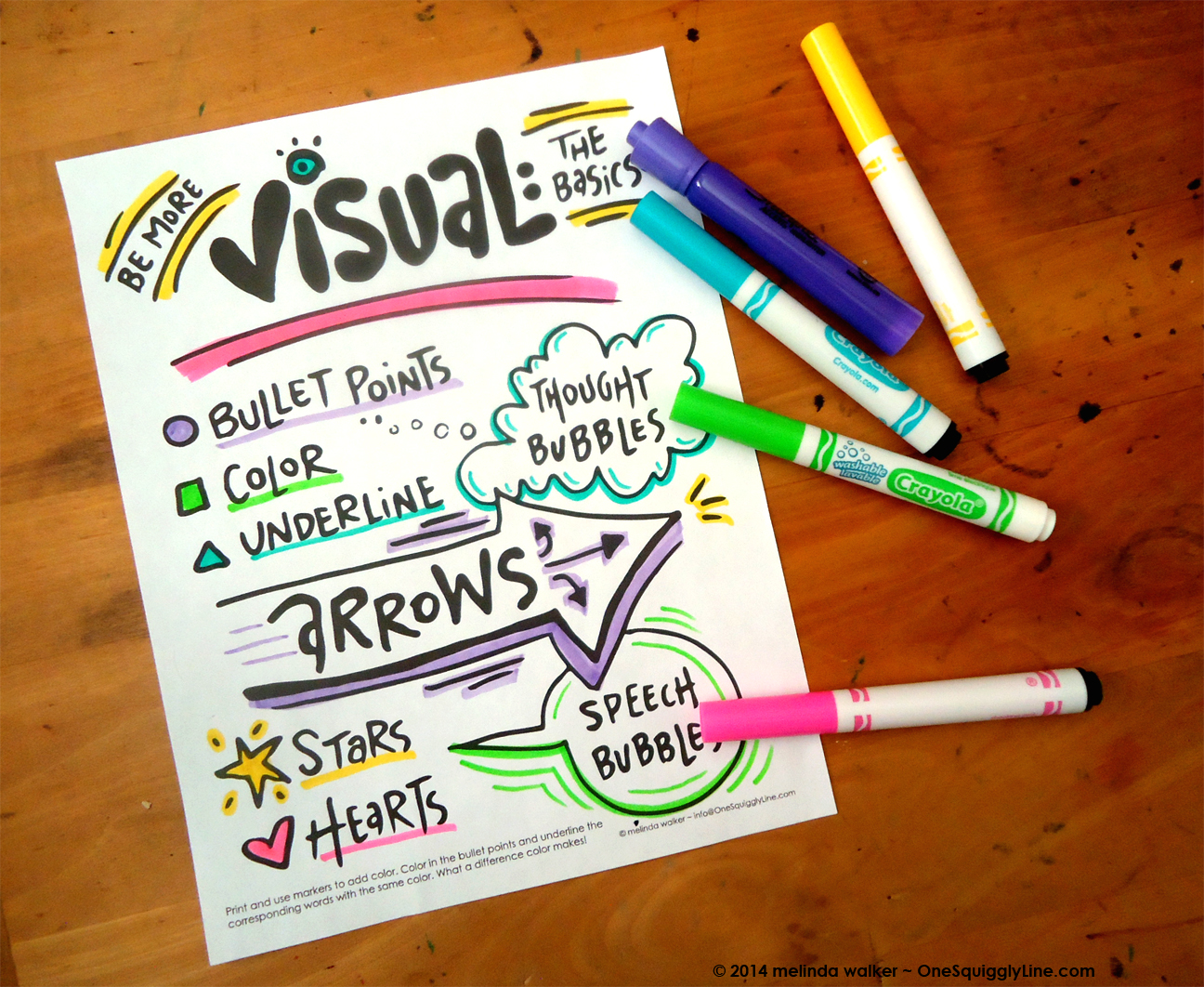 Be More Visual - Free Downloads!